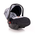 Car Seat PLUTO with footcover Grey MARBLE