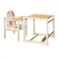 Feeding Chair with Table Natural