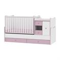 Легло MiniMAX Бяло/Розово