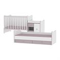 Легло MiniMAX Вариант В /В този вариант, леглото може да се използва едновременно от две деца./